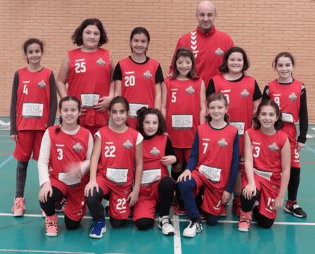 C. B. RUTE LIVESOLIVES ACEITE ECOLÓGICO (Minibasket Femenino)