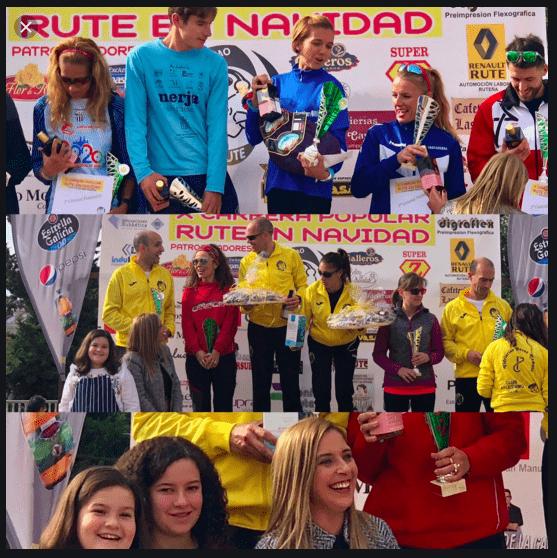 Sponsor Rute Carrera Navidad 2018 Aceite de Oliva BIO y Solidario